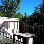 Enjoy the large 160 sq.ft. sun deck with mountain view - second balcony too