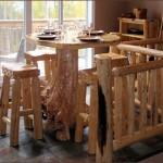 Upper floor dining